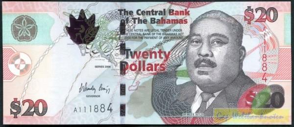 2006, OT - (Sie sehen ein Musterbild, nicht die angebotene Banknote)