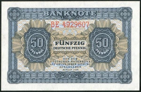1948, XX KN 7st - (Sie sehen ein Musterbild, nicht die angebotene Banknote)