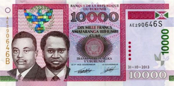 31.10.13 - (Sie sehen ein Musterbild, nicht die angebotene Banknote)