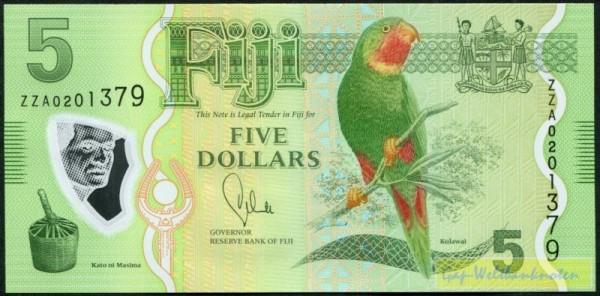 ZZA KN = Ersatznote - (Sie sehen ein Musterbild, nicht die angebotene Banknote)