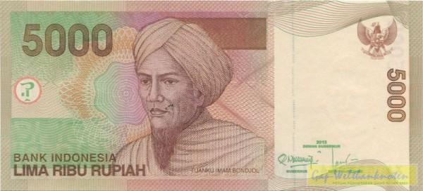 2013/2001, Ersatznote - (Sie sehen ein Musterbild, nicht die angebotene Banknote)