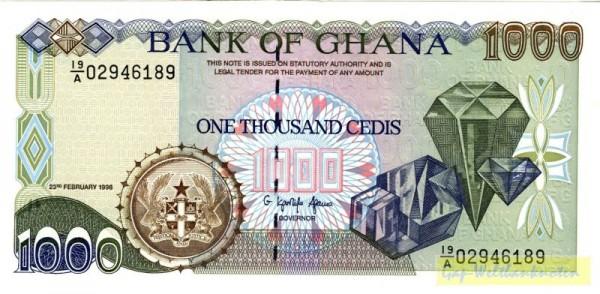 23.2.96 - (Sie sehen ein Musterbild, nicht die angebotene Banknote)
