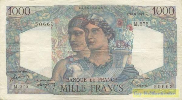 3.11.49 - (Sie sehen ein Musterbild, nicht die angebotene Banknote)
