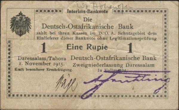 B2, Wz. Hohenofen - (Sie sehen ein Musterbild, nicht die angebotene Banknote)