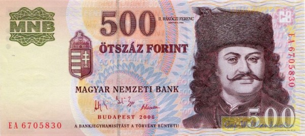 2006, GA - (Sie sehen ein Musterbild, nicht die angebotene Banknote)