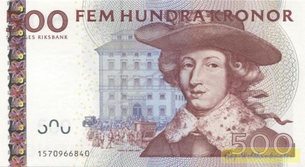 Us. Hulterström/Bäckström - (Sie sehen ein Musterbild, nicht die angebotene Banknote)