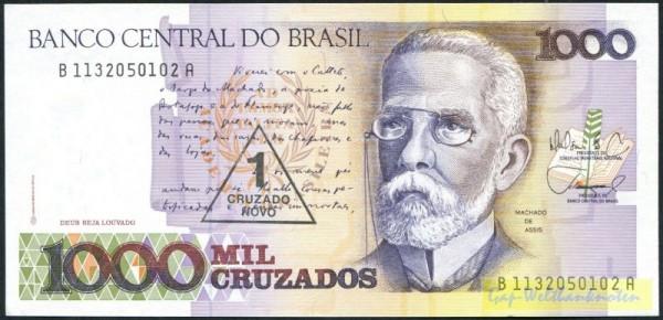 B KN, Us. 26, S. 1-1617 - (Sie sehen ein Musterbild, nicht die angebotene Banknote)
