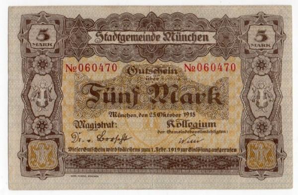 25.10.18, No KN - (Sie sehen ein Musterbild, nicht die angebotene Banknote)