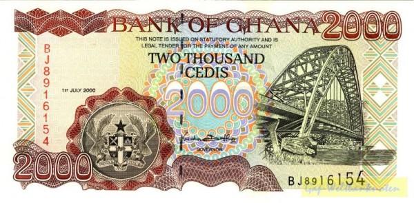 1.7.00 - (Sie sehen ein Musterbild, nicht die angebotene Banknote)