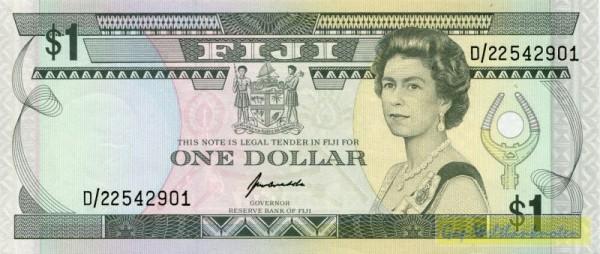 Us. Kubuabola - (Sie sehen ein Musterbild, nicht die angebotene Banknote)