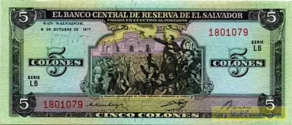 6.10.77 - (Sie sehen ein Musterbild, nicht die angebotene Banknote)