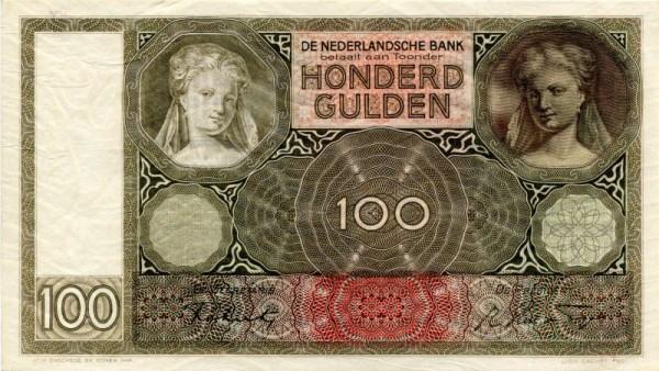 Datum li. ob., re. unt. - (Sie sehen ein Musterbild, nicht die angebotene Banknote)