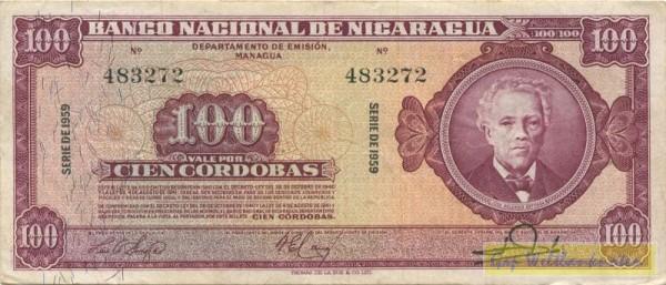 1959 - (Sie sehen ein Musterbild, nicht die angebotene Banknote)
