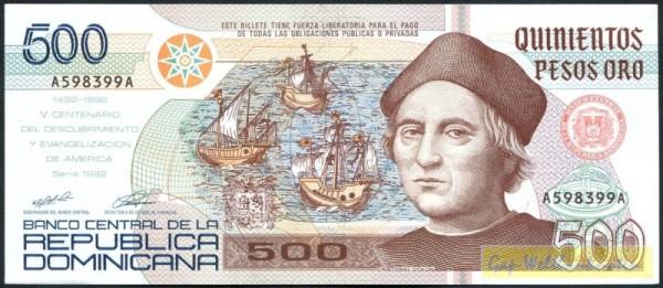 1992, GA - (Sie sehen ein Musterbild, nicht die angebotene Banknote)