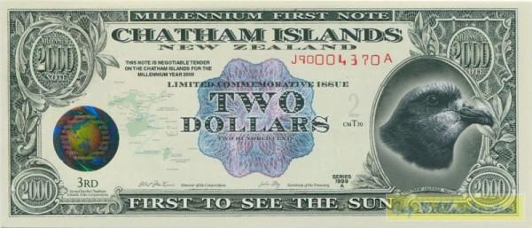 Weltkugel i. Kinegr., Plastik - (Sie sehen ein Musterbild, nicht die angebotene Banknote)