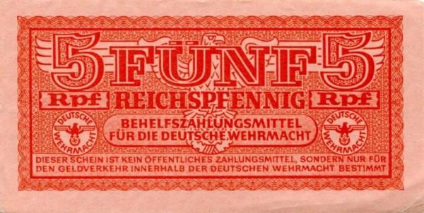 Druck rot - (Sie sehen ein Musterbild, nicht die angebotene Banknote)