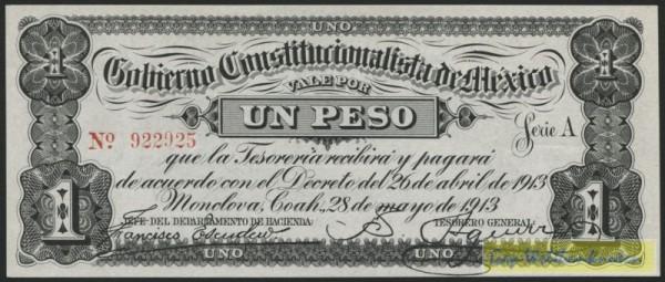 28.5.13 - (Sie sehen ein Musterbild, nicht die angebotene Banknote)