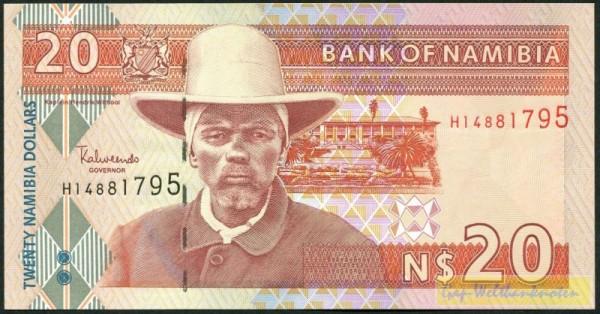 Us. 3, H, J - (Sie sehen ein Musterbild, nicht die angebotene Banknote)