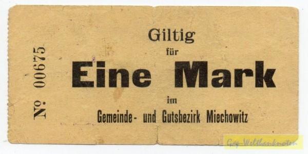 oD, Pap. gelb, Rs. 2 FUS - (Sie sehen ein Musterbild, nicht die angebotene Banknote)