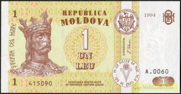 1994 - (Sie sehen ein Musterbild, nicht die angebotene Banknote)