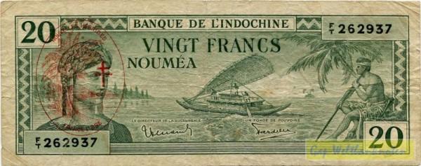 Üdr. auf Neukal. Nr. 49 - (Sie sehen ein Musterbild, nicht die angebotene Banknote)