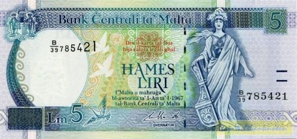 segm. Sf., Us. Bonello - (Sie sehen ein Musterbild, nicht die angebotene Banknote)