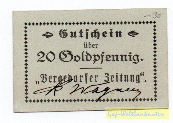 oD, ohne St - (Sie sehen ein Musterbild, nicht die angebotene Banknote)