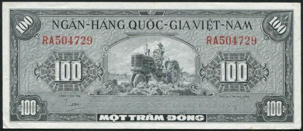 (1955) - (Sie sehen ein Musterbild, nicht die angebotene Banknote)