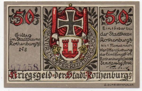 31.10.18, Udr. grau, KN violett 5 mm - (Sie sehen ein Musterbild, nicht die angebotene Banknote)