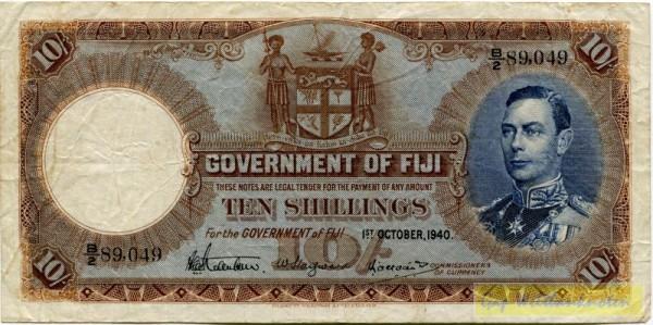 1.10.40 - (Sie sehen ein Musterbild, nicht die angebotene Banknote)