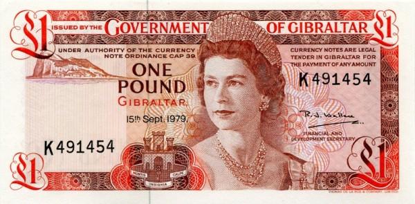 15.9.79 - (Sie sehen ein Musterbild, nicht die angebotene Banknote)
