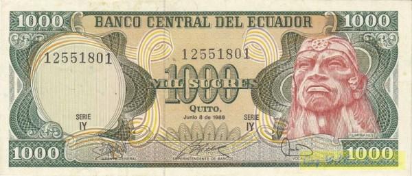 8.6.88, IY - (Sie sehen ein Musterbild, nicht die angebotene Banknote)