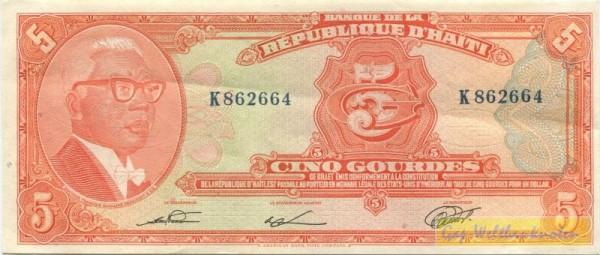 L1979, ABNC, X KN - (Sie sehen ein Musterbild, nicht die angebotene Banknote)