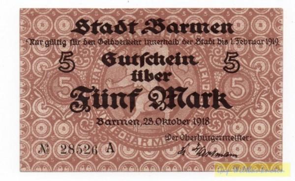23.10.18, Serie B - (Sie sehen ein Musterbild, nicht die angebotene Banknote)