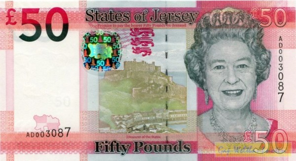neues Design - (Sie sehen ein Musterbild, nicht die angebotene Banknote)