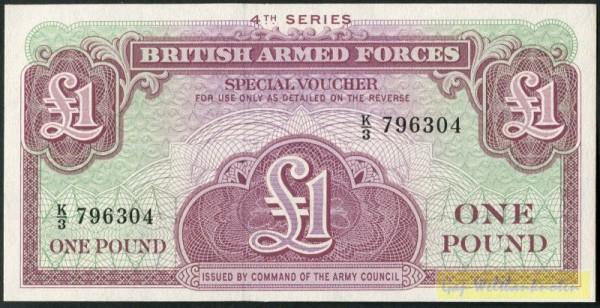 4. Serie - (Sie sehen ein Musterbild, nicht die angebotene Banknote)