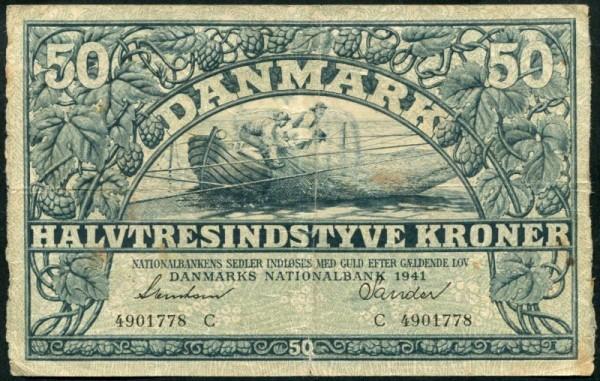 1941C - (Sie sehen ein Musterbild, nicht die angebotene Banknote)