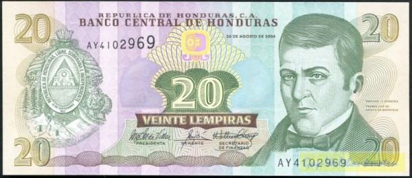 26.8.04, G&D - (Sie sehen ein Musterbild, nicht die angebotene Banknote)