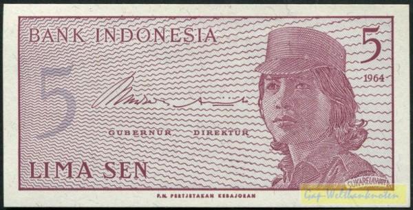 1964 - (Sie sehen ein Musterbild, nicht die angebotene Banknote)