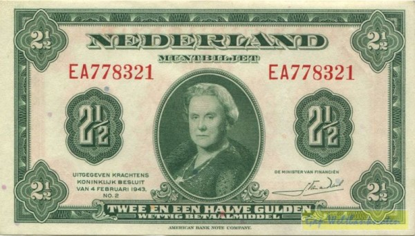4.2.43, XX KN - (Sie sehen ein Musterbild, nicht die angebotene Banknote)