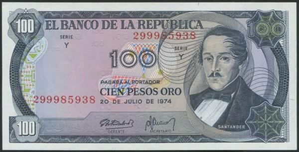 20.7.74 - (Sie sehen ein Musterbild, nicht die angebotene Banknote)