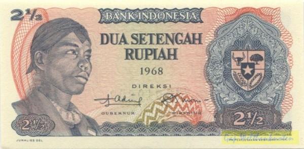 1968, Ersatznote - (Sie sehen ein Musterbild, nicht die angebotene Banknote)