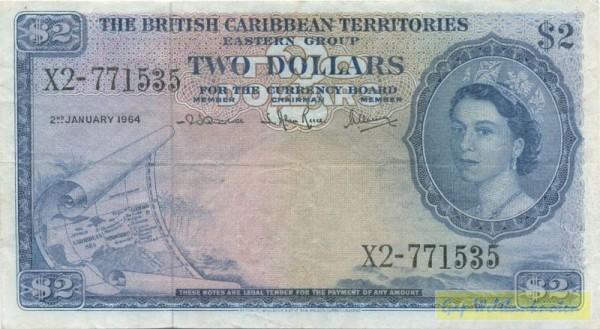 2.1.64 - (Sie sehen ein Musterbild, nicht die angebotene Banknote)