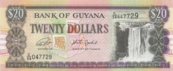 Us. Ganga/Jordan, DLR - (Sie sehen ein Musterbild, nicht die angebotene Banknote)