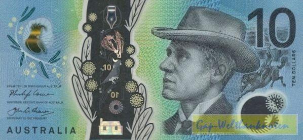 2017 - (Sie sehen ein Musterbild, nicht die angebotene Banknote)
