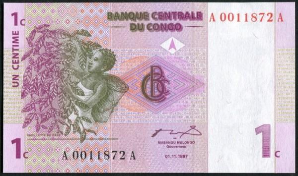 1.11.1997 - (Sie sehen ein Musterbild, nicht die angebotene Banknote)