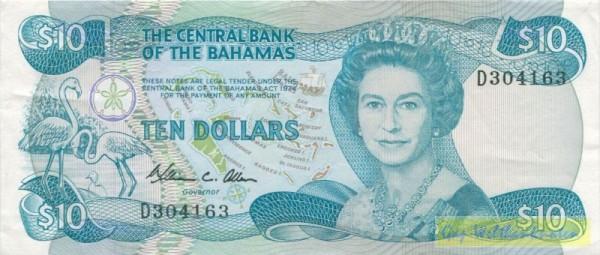 L1974, Us. Allen - (Sie sehen ein Musterbild, nicht die angebotene Banknote)