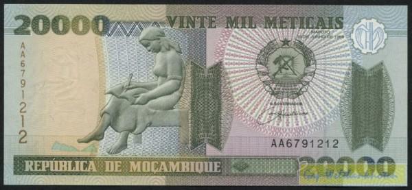 16.6.99 - (Sie sehen ein Musterbild, nicht die angebotene Banknote)