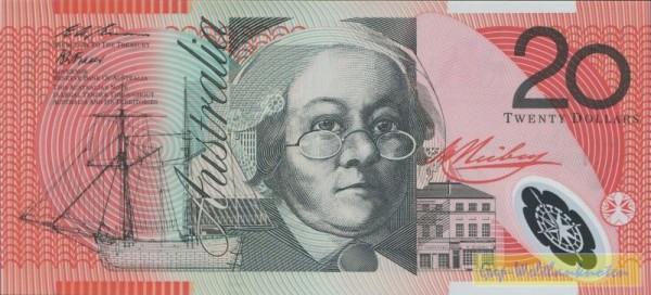 94, Evans-Fraser - (Sie sehen ein Musterbild, nicht die angebotene Banknote)