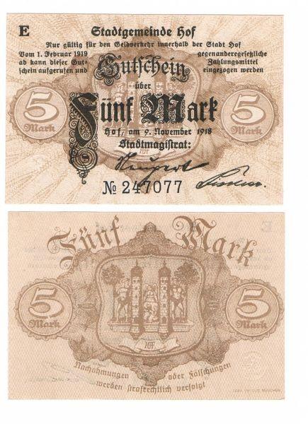 9.11.18, D, E - (Sie sehen ein Musterbild, nicht die angebotene Banknote)